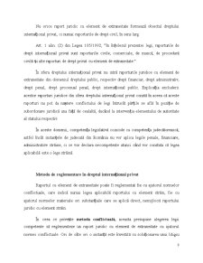 Raportul Juridic in Dreptul International Privat - Pagina 3