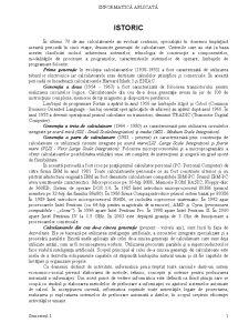Informatică Aplicată - Pagina 1