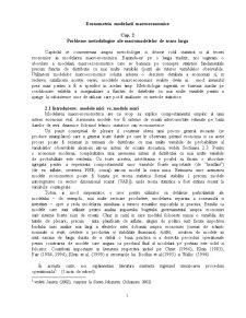Econometrie - Pagina 1