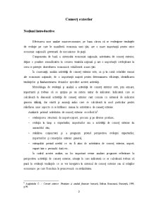 Comert Exterior si Integrarea Romaniei in Zona Euro - Pagina 2