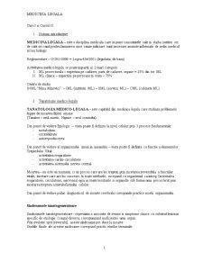 Medicina Legala - Pentru Juristi - Pagina 1
