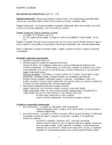Regimurile Matrimoniale - Pagina 1