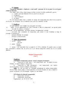 Dreptul Transporturilor - Pagina 2
