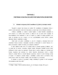 Costurile și Calculația Lor în Contabilitatea de Gestiune - Pagina 4
