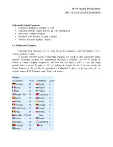 Instituțiile Uniunii Europene - Pagina 1