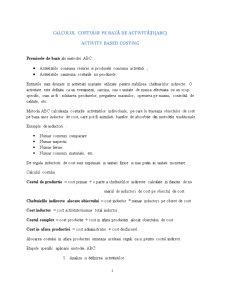 Contabilitate de Gestiune - Pagina 1