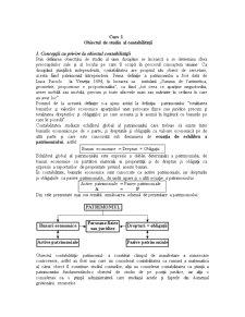 Obiectul de Studiu al Contabilității - Pagina 1
