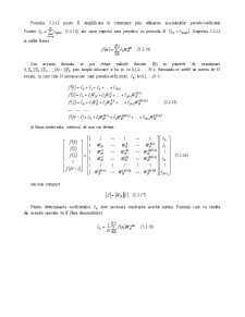 Prelucrarea Semnalelor - Curs 5 - Pagina 3