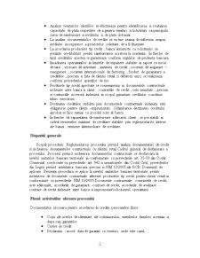 Procesele de Creditare pe Exemplul BCR - Pagina 2