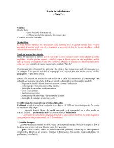Retele de Calculatoare - Nivel Fizic - Pagina 1