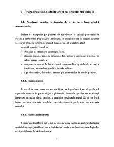 Pregatirea Salonului in Vederea Deschiderii si Primirii Consumatorilor - Pagina 3