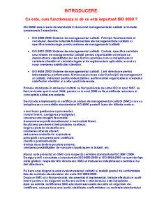 ISO 9001 - Pagina 1