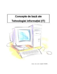 Concepte de Bază ale Tehnologiei Informației - Pagina 1