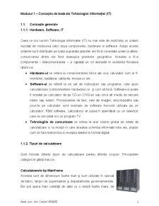 Concepte de Bază ale Tehnologiei Informației - Pagina 2