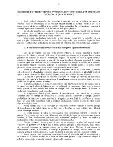 Elemente de Termotehnică Avansată pentru Studiul Fenomenelor din Instalațiile Termice - Pagina 2