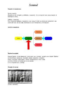 Semnul și Comunicarea - Pagina 1
