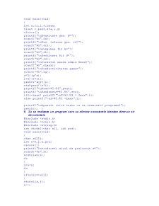 Probleme Rezolvate în C - Pagina 3