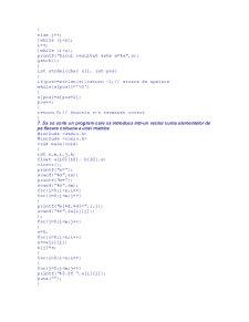 Probleme Rezolvate în C - Pagina 4