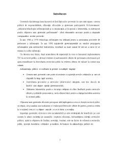 Guvernarea Electronică - Pagina 3
