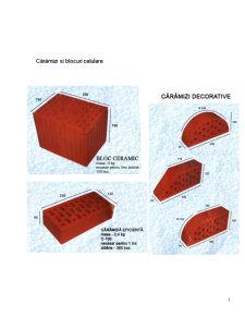 Materiale de Constructii Termoizolante - Pagina 1