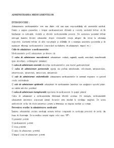 Drept Roman - Administrarea Medicamentelor - Pagina 1