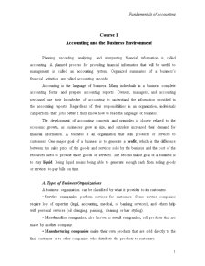Accounting and the Business Environment - Pagina 1