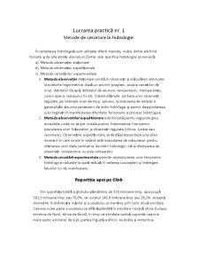 Metode de Cercetare în Hidrologie - Pagina 1