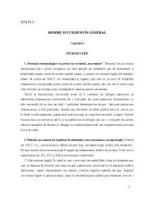Drept Civil Succesiuni și Testamente - Pagina 2