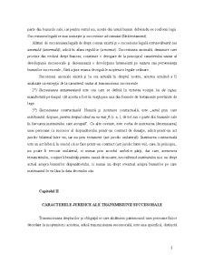 Drept Civil Succesiuni și Testamente - Pagina 3