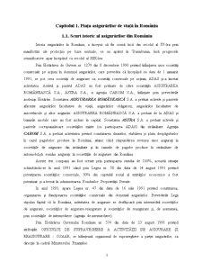 Studiu Comparativ pe Piata Asigurarilor - ING si Grawe - Pagina 3