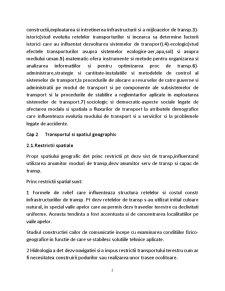 Geografia Transporturilor - Pagina 2