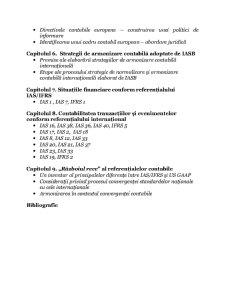 Standardele Internaționale de Raportare Financiară în Contextul Procesului de Armonizare Contabilă - Pagina 3