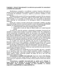 Standardele Internaționale de Raportare Financiară în Contextul Procesului de Armonizare Contabilă - Pagina 4