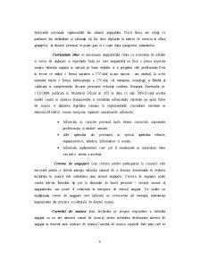 Acte Necesare pentru Incheierea Contractului Individual de Munca - Pagina 4