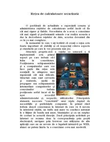 Rețea de Calculatoare Securizată - Pagina 1