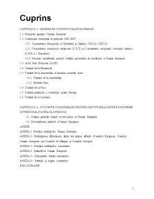Institutii si Mecanisme Comunitare - Pagina 2