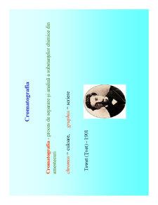 Cromatologie - Pagina 1