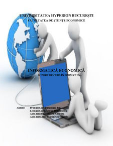 Informatică Economică - Pagina 1