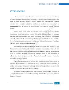 Informatică Economică - Pagina 2