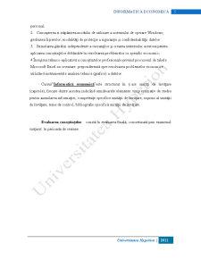 Informatică Economică - Pagina 5