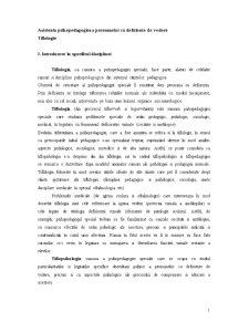 Deficiente de Vedere - Pagina 1