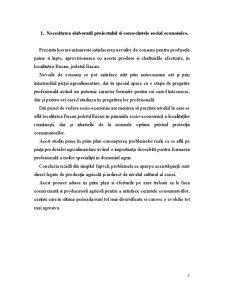 Studiul de Caz privind Aprovizionarea cu Lapte si Paine a Municipiului Bacau - Pagina 2