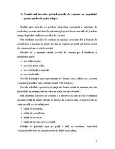Studiul de Caz privind Aprovizionarea cu Lapte si Paine a Municipiului Bacau - Pagina 5