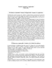Subiecte Organizarea Magistraturii - Pagina 1