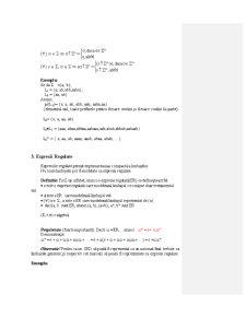Limbaje Formale - Curs 1 - Pagina 5