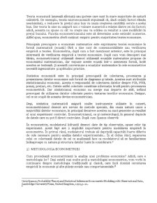 Domeniile Econometriei - Pagina 2