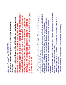 Aditivi Alimentari - Pagina 2