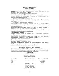 Sanatate Publica - Pagina 1