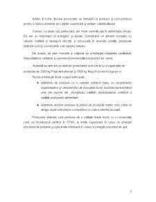 Proiectarea unei Secții de Obținere a Specialităților din Carne - Pagina 2