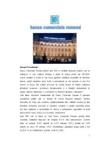 Lucrare de Practica la Banca Comerciala Romana SA - Sucursala Libertatii-Bucuresti - Pagina 3